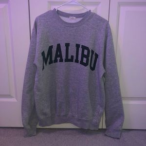 brandy Malibu sweatshirt